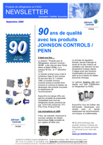 newsletter Septembre 2009